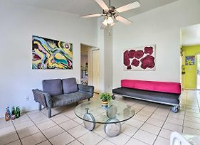 Colorful Ocala Home W/ Private Yard + Grill! photos Exterior