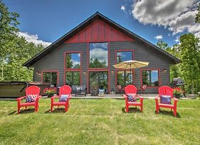 Lakeside Modern Chalet On The Crow Wing Chain photos Exterior