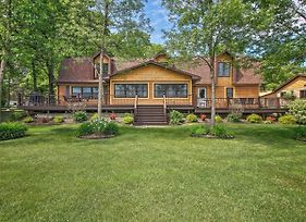 Large Home On Lake Edward W/ Deck & Fire Pit! photos Exterior