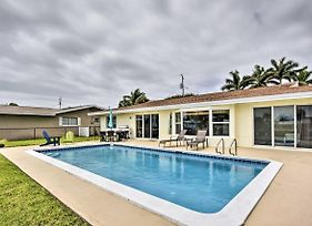 Canal Front Home W/Pool ~ 1Mi To Cocoa Beach! photos Exterior