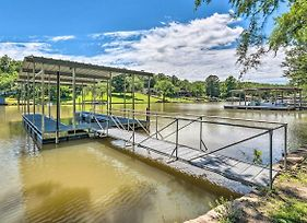 Lakefront Hot Springs House W/ Deck & Dock! photos Exterior