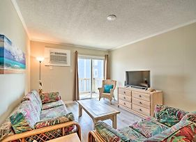 Oceanfront North Topsail Beach Condo With Balcony! photos Exterior