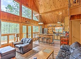 Central Black Hills Cabin W Loft & Wraparound Deck photos Exterior