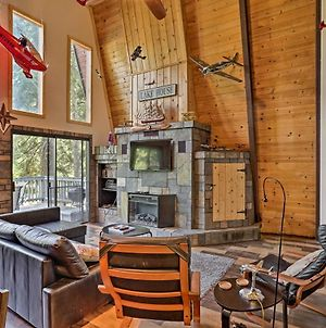 Mod Cabin With Hot Tub, Walk To Lake & Golfing! photos Exterior