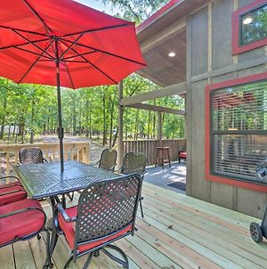 Woodland Tinyhome With Fire Pit - 4 Mi To Lake! photos Exterior