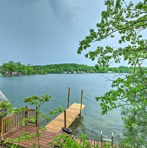 Quiet Cabin On Glen Lake With Boat Dock And Deck! photos Exterior