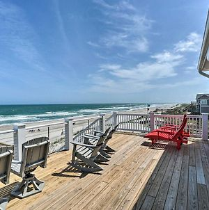 Beachfront Oasis: 2 Huge Decks, Bbq & Views! photos Exterior