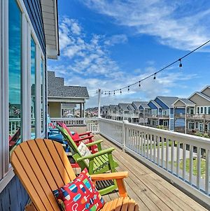 Charming Surf City House With Elevator, Walk To Beach photos Exterior