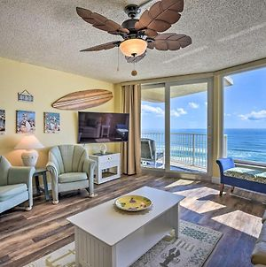 Beachfront Condo, Walk To Pier And Dining! photos Exterior
