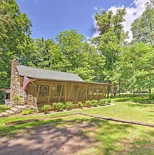 2-Acre Historic Black Mountain Cabin With View! photos Exterior