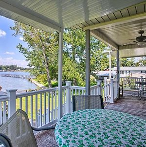 Fishermans Lakefront Home With Boat Lift And Deck! photos Exterior