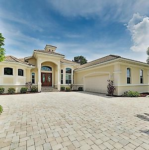 Upscale Canal Home W/ Dock, 5-Minute Walk To Beach Home photos Exterior