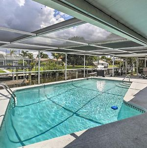 Canalfront Home With Dock&Pool, 5 Mi To Ft Myers photos Exterior