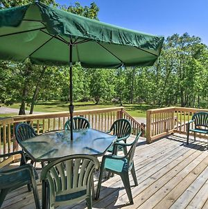 Wisconsin Dells Family Home With Fire Pit & Bbq! photos Exterior