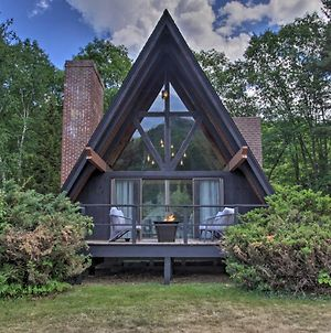 Riverfront A-Frame 5 Mi To Attitash Mountain! photos Exterior