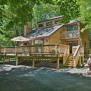 Bear Den Rustic Mtn Home About 2 Mi To Pocono Lake! photos Exterior