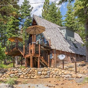 Classic Talmont A Frame Great View Of Lake Tahoe! photos Exterior