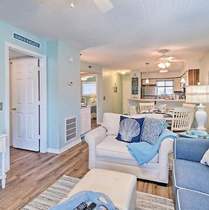 Updated Condo With Ocean Views On Carolina Beach! photos Exterior
