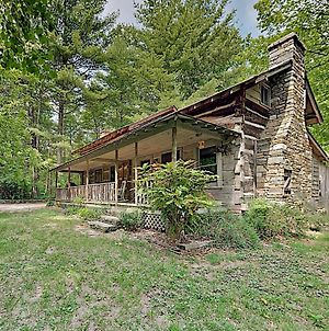 New Listing! Authentic Cabin Escape Near Asheville Home photos Exterior