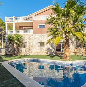Villa With 5 Bedrooms In Olivella With Wonderful Mountain View Private Pool Enclosed Garden 13 Km From The Beach photos Exterior