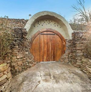 Pool Open! The Hobbit House Earth Ship Sustainable Home photos Exterior