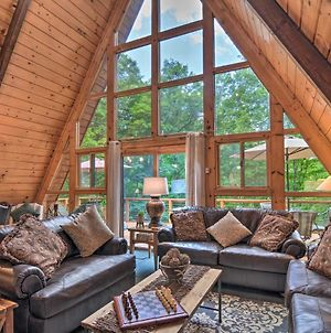 Secluded Gaylord Chalet With Hot Tub - Near Slopes! photos Exterior