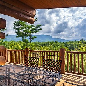 Big Bear Ridge Lodge - Breathtaking Mountain Views And Private Forest Scenes In Amazing Large Log Cabin photos Exterior