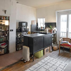 Apt In Batignolles With View Eiffel Tower photos Exterior