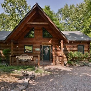 Amazing Wood Log Cabin Pvt Hot Tub In Woods Wifi Fireplace Camp Budd Near Big Cedar photos Exterior