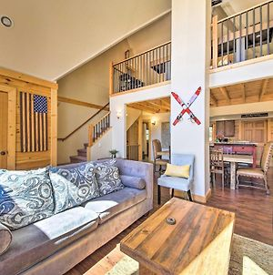 Spacious Big Bear Lake Cabin With Deck Less Than 1 Mi To Ski photos Exterior