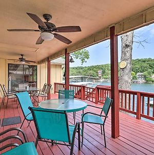 Cozy Lake Of The Ozarks Home With Private Dock photos Exterior