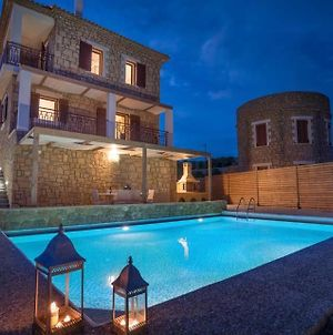 Vasilikos Villa Sleeps 7 With Pool Air Con And Wifi photos Exterior