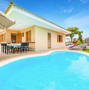 Villa In Playa De Muro Sleeps 6 With Pool Air Con And Wifi photos Exterior