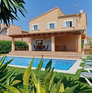 Villa In Es Barcares Sleeps 10 With Pool Air Con And Wifi photos Exterior