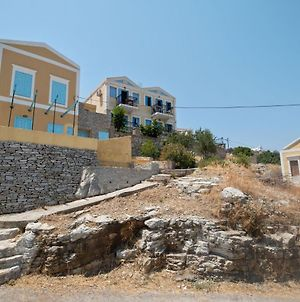 Bright Holiday Home In Symi Island With Balcony photos Exterior