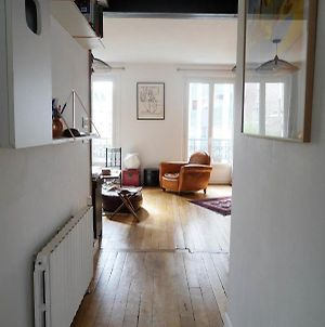 Superb Bright Apt In Buttes Chaumont photos Exterior