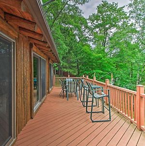 Lakefront Cabin With Dock, Canoe, 2-Story Deck! photos Exterior