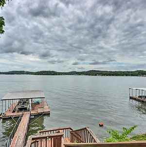 Spacious Lakefront Getaway With Deck And Boat Dock photos Exterior