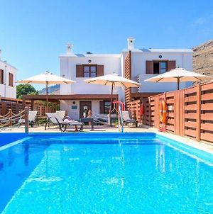 Villa In Lindos Sleeps 4 With Pool Air Con And Wifi photos Exterior