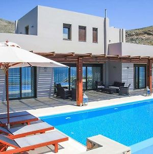 Villa In Lindos Sleeps 10 With Pool Air Con And Wifi photos Exterior