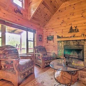Luxe Mtn-View Maggie Valley Home With 2 Decks! photos Exterior