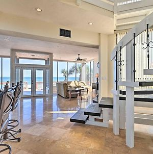 Oceanfront House By Ponce Inlet On No-Drive Beach! photos Exterior