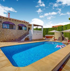 Serene Villa In Calpe With Private Swimming Pool photos Exterior