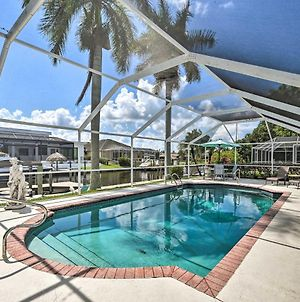 Canalfront Cape Coral Haven With Pool & Dock! photos Exterior