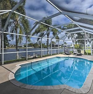 Canalfront Cape Coral Escape With Pool, Dock & Kayaks photos Exterior