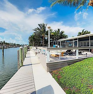 New Listing! Canal-Front Oasis With Pool & Boat Dock Home photos Exterior