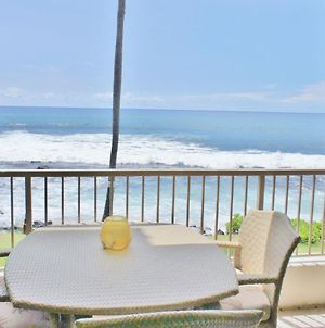 Ocean Front Ac Next To Honl'S Beach Walk To Town Kona Reef A15 photos Exterior