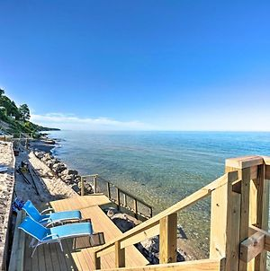 Lake Michigan Home With Multi-Level Deck And Views photos Exterior