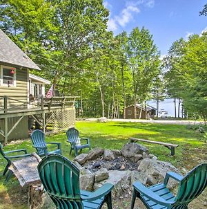 Casco Cabin On Thompson Lake With Fire Pit And Deck photos Exterior