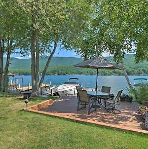 Waterfront Home On Lake George With Boat Dock! photos Exterior